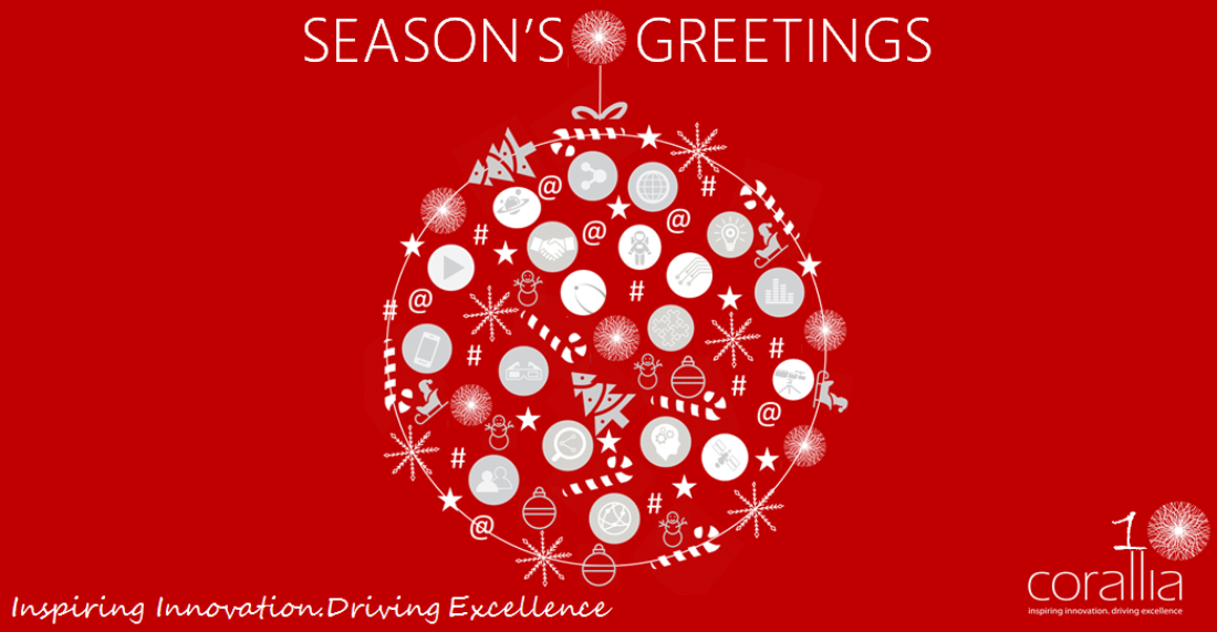 Seasons greetings from corallia best wishes for a wonderful seasons greetings from corallia best wishes for a wonderful holiday season and a happy new year m4hsunfo