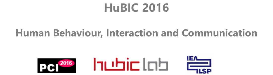 Call for Papers: HUBIC 2016